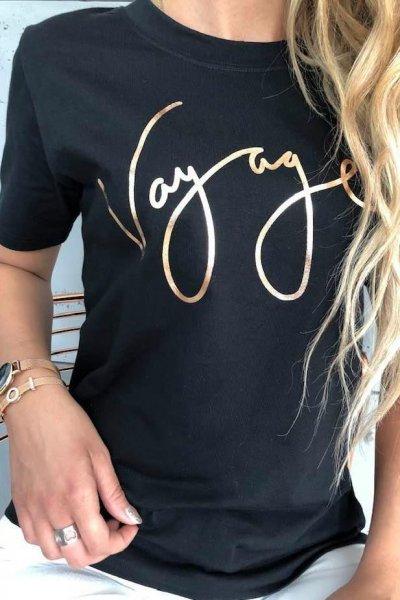 T-shirt Voyage black