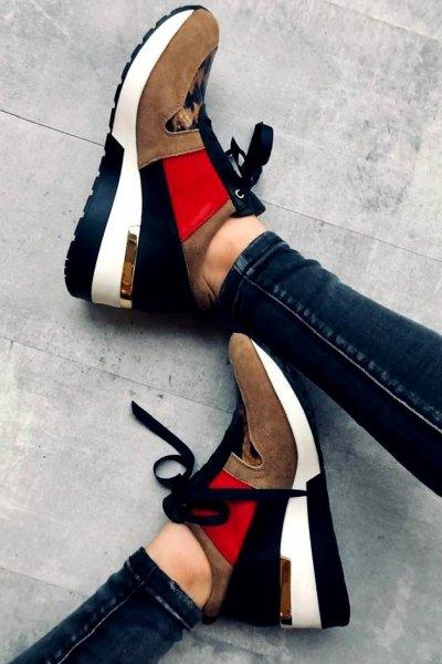 Sneakersy Lux Skóra