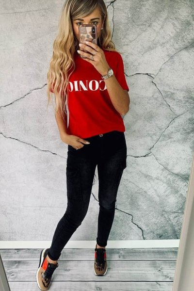 T-shirt Iconic Red
