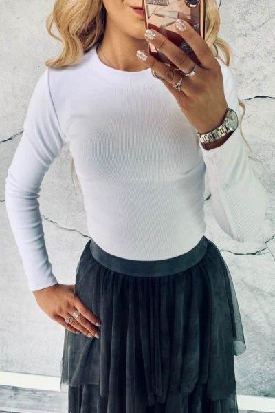 Bluzka Simple White