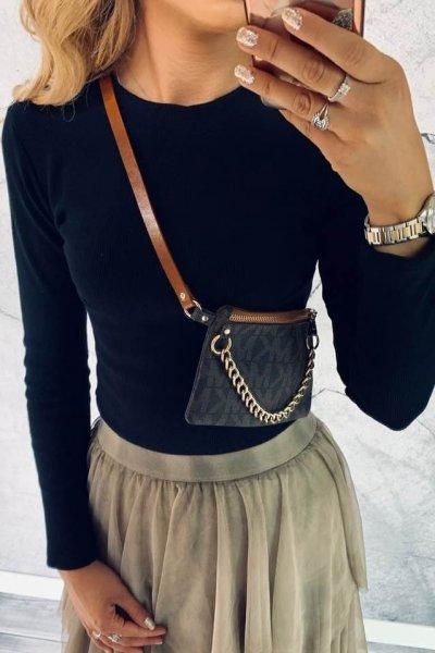 Bluzka Simple Black