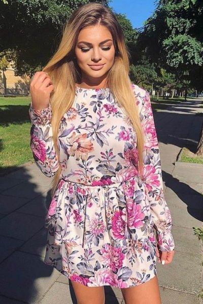 Sukienka Elena Beige
