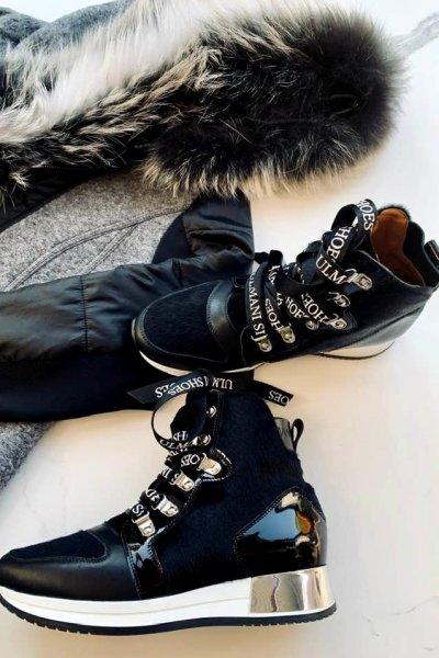 Sneakersy Ulmiani Black