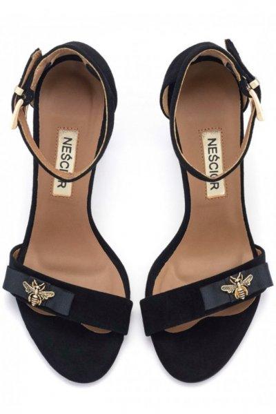 Skórzane sandałki Bee