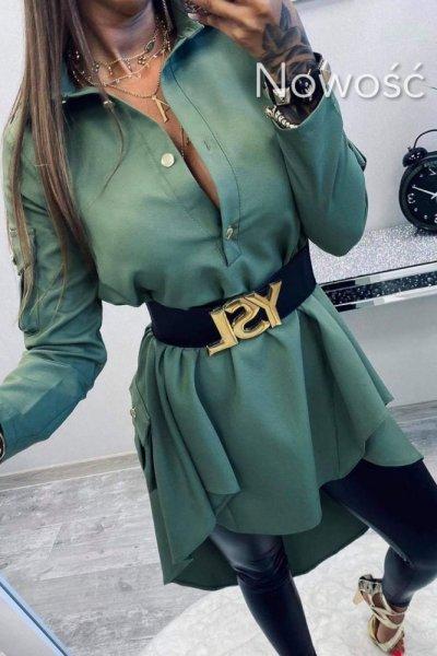 Sukienka Military Khaki