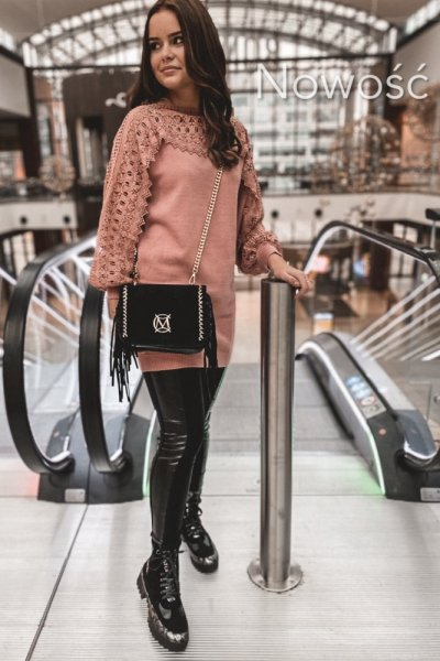 Sweter Glam Pink