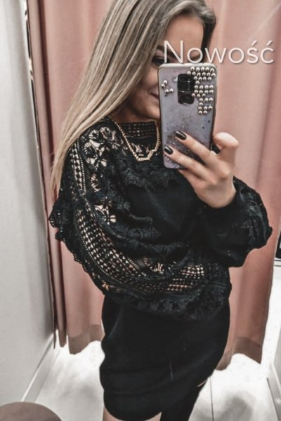 Sweter Glam Black